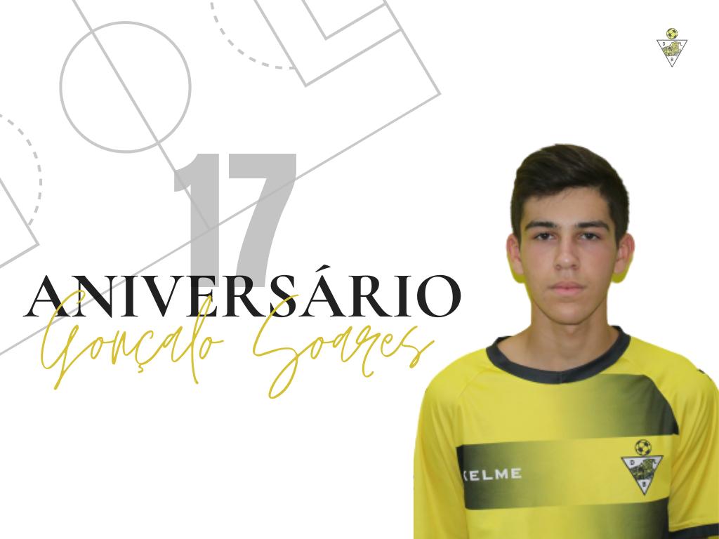17º aniversário Gonçalo Soares