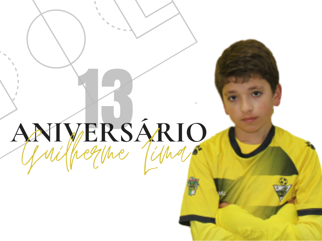 13º aniversário Guilherme Lima