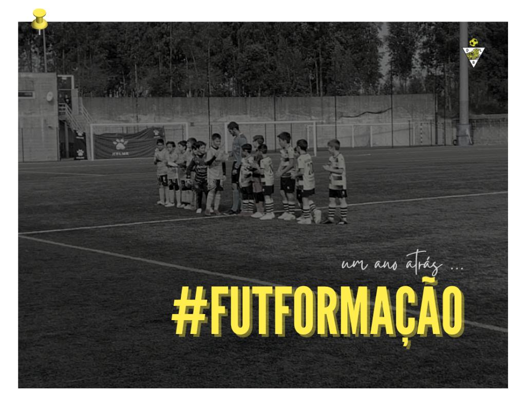 ⚽️  𝟏 𝐀𝐍𝐎 𝐒𝐄𝐌 #FUTFORMAÇÃO