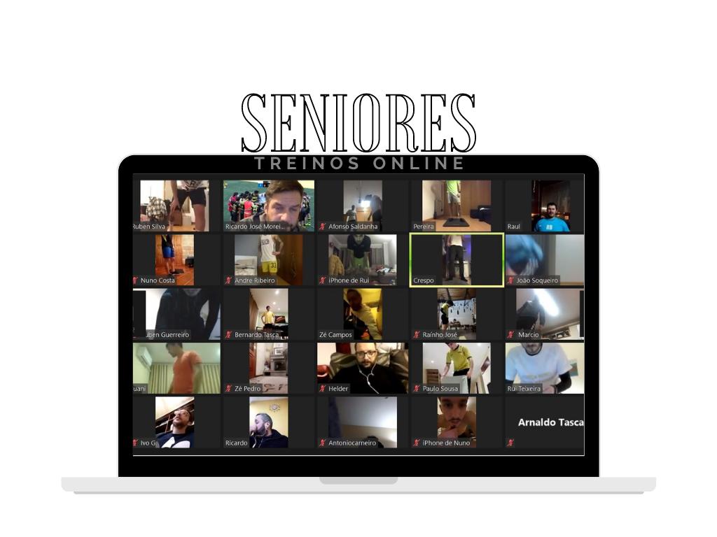 ⚽️ Seniores em treinos