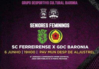 Jogo - SC Ferreirense x GDC Baronia