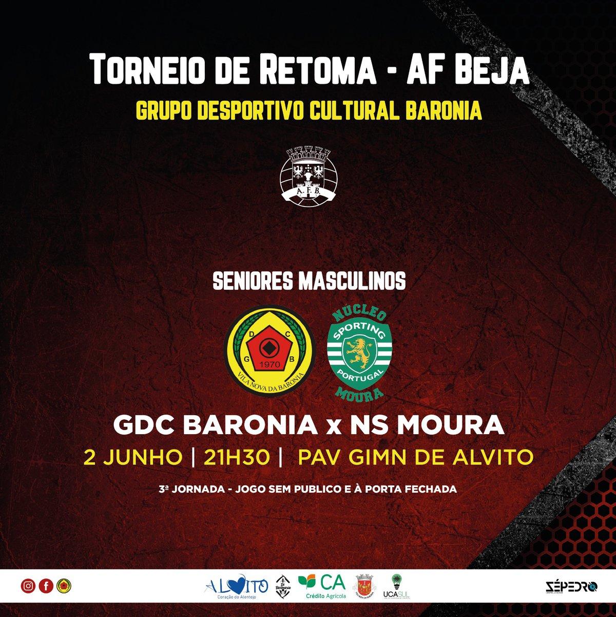 Jogo - GDC Baronia x NS Moura