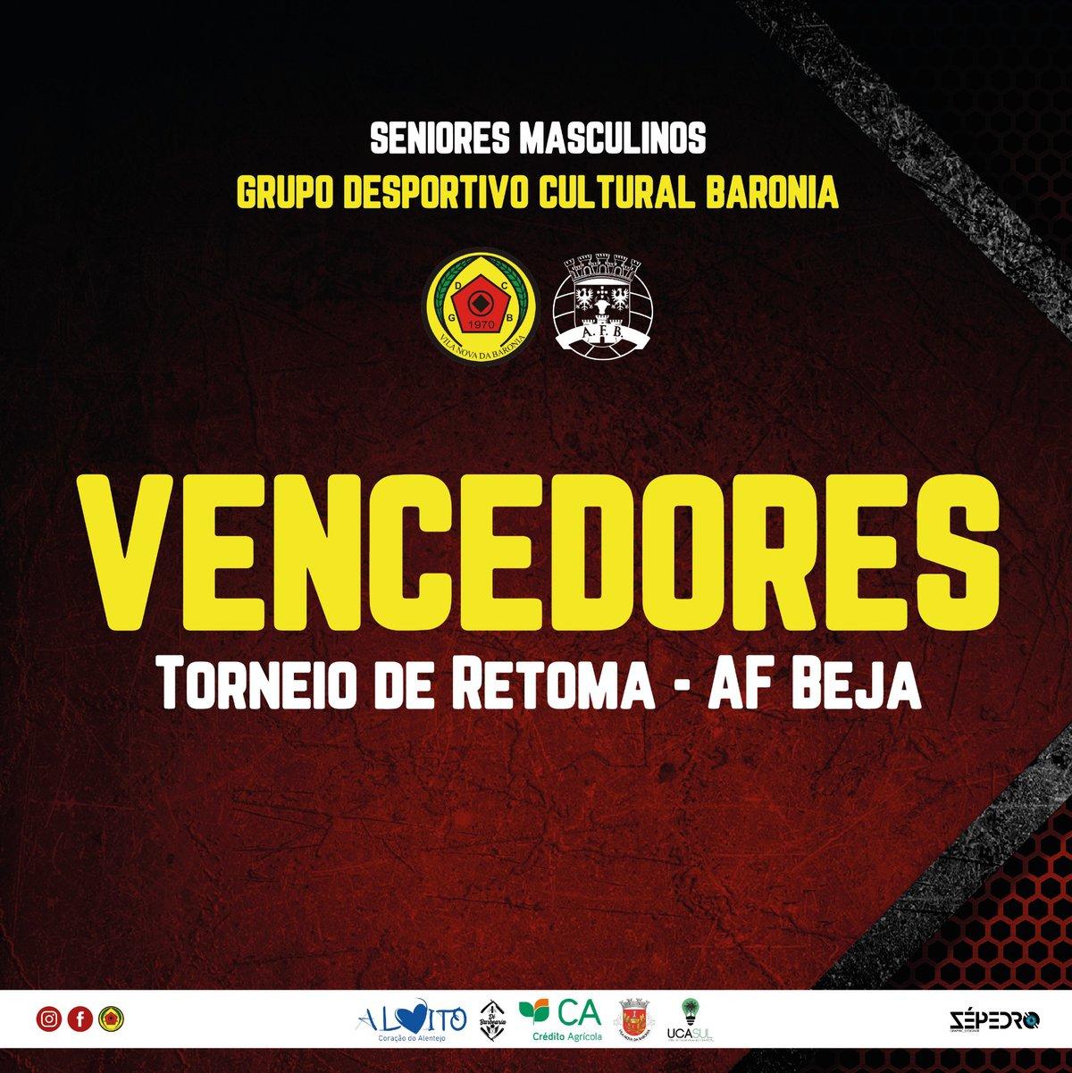 GDC Baronia vence Torneio de Retoma da AF BEJA