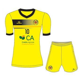 Equipamento Oficial (alternativo amarelo)