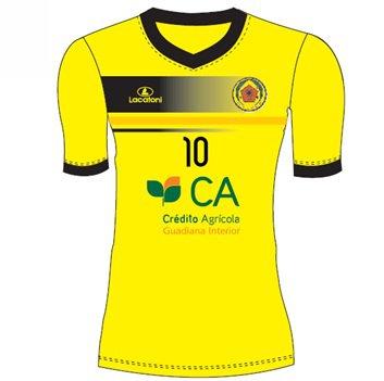 Camisola Oficial - GDC Baronia (alternativa amarelo)