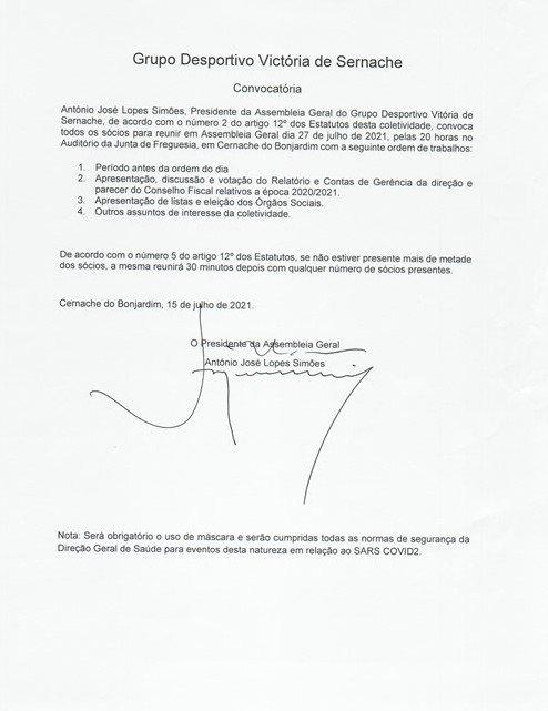 ASSEMBLEIA GERAL EXTRAORDIÁRIA