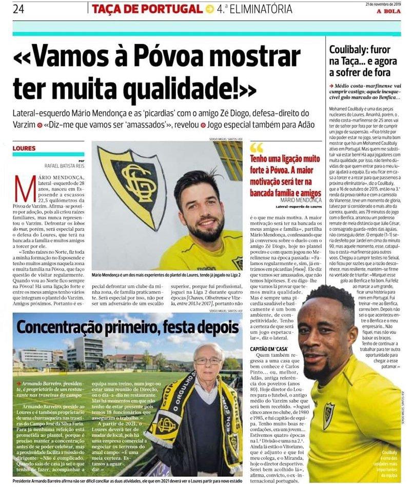 Antevisão Taça de Portugal