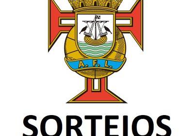 SORTEIOS: Campeonatos Distritais JUVENIS E INICIADOS