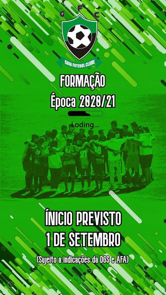 Ínicio do Futebol Formação - Época 2020/21