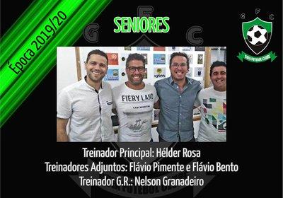 SENIORES | Equipa técnica época 2019/2020