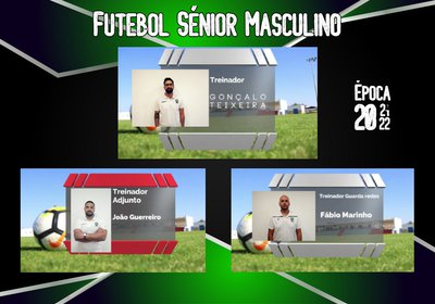 Seniores masculinos | Apresentação da Equipa Técnica para a época 2021/22