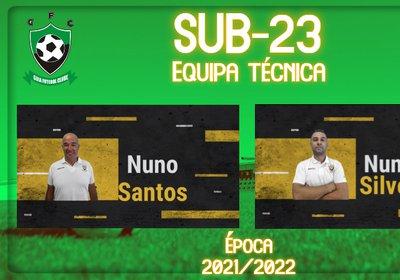 Sub-23 | Apresentação de equipa técnica para a época 2021/2022