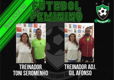 FUTEBOL FEMININO | Apresentação da equipa técnica para a época 2019/20.