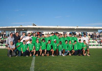 Iniciados sagram-se Campeões do Algarve