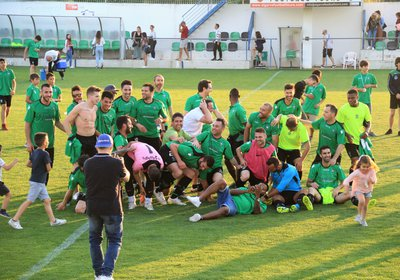 Equipa Sénior conquista promoção à 1ª Divisão