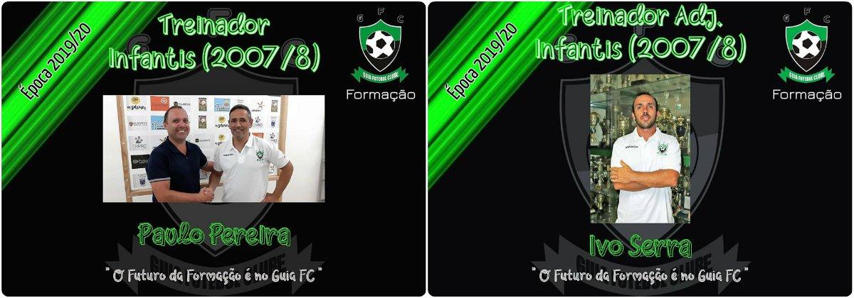 FORMAÇÃO | Apresentação dos treinadores para a época 2019/20.