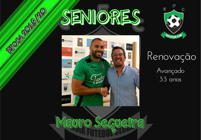 SENIORES | Plantel época 2019/20