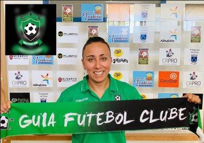 Apresentação da equipa técnica de Futebol Feminino - Preparadora física.