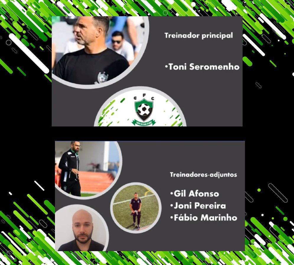 Saída do técnico Toni Seromenho da equipa sénior