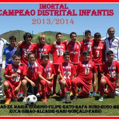 Campeão Distrital Infantis 2012/13
