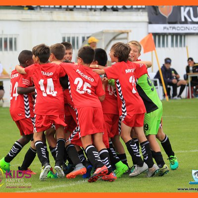 Vitória na Final KMC do II Torneio Kidsmaster MEALHADA 2017