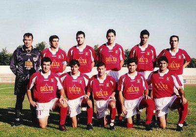 Lusitano FC 2001/2002