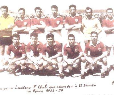 Lusitano FC 58/59