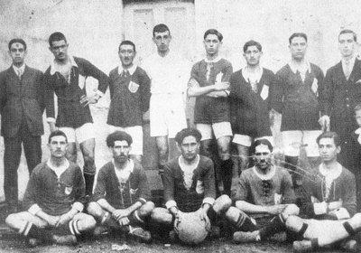 Primeira equipa 1916