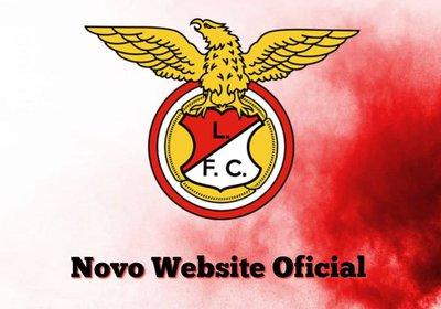 Novo website Oficial