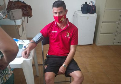 Plantel Sénior já realizou os exames médicos