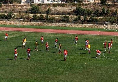 Jogo de preparação Carvoeiro United - Lusitano FC resultado final