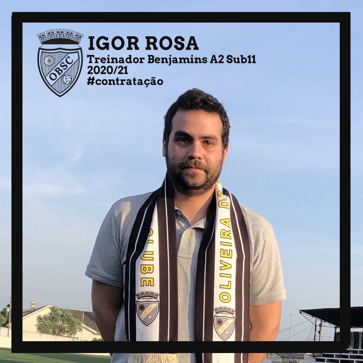 Igor Rosa, reforço para os Benjamins Sub11