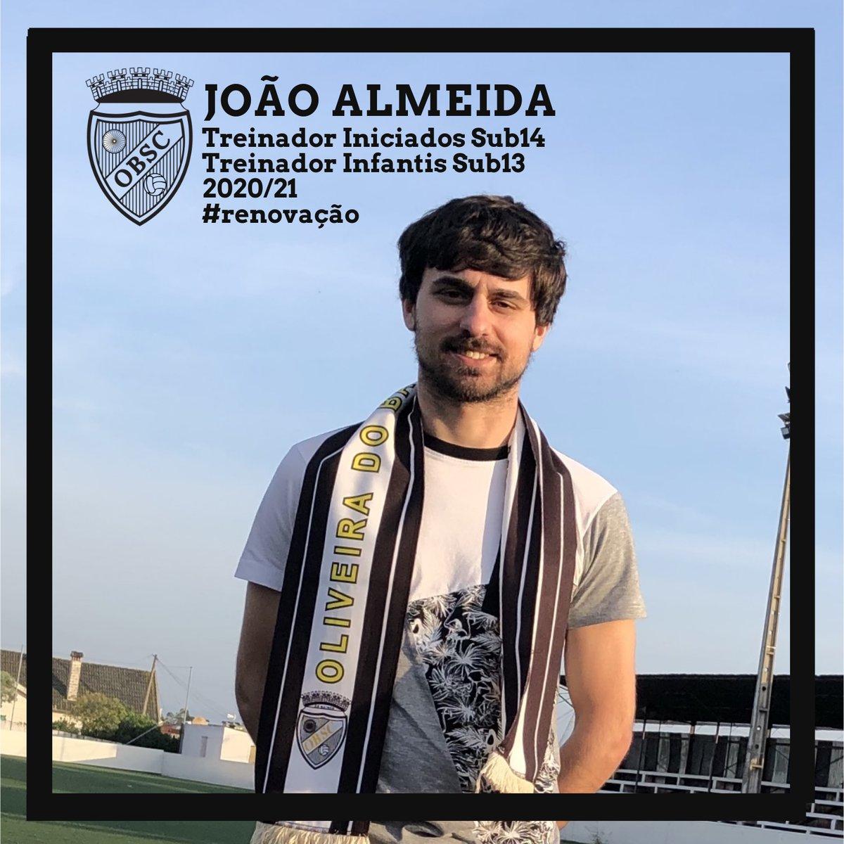 João Almeida... dose dupla de desafios.