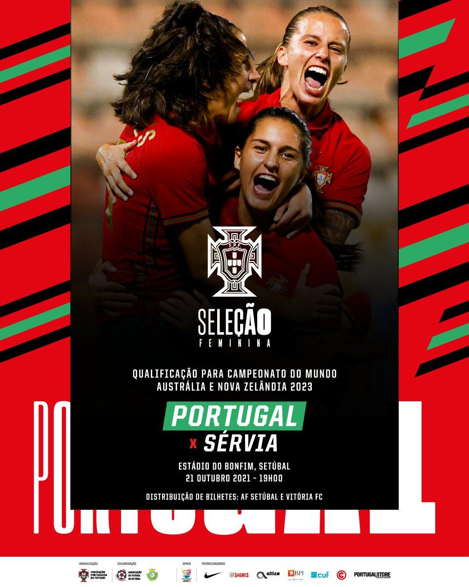 Portugal x Sérvia (Futebol Feminino)