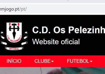O novo site dos Pelezinhos está online