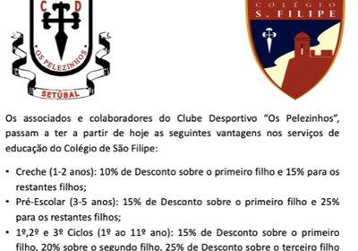 Protocolo com Colégio de São Filipe