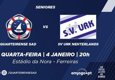 Amigável: Quarteirense SAD vs SV Urk