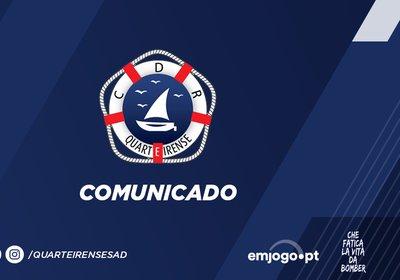 Comunicado oficial: Rúben Nogueira
