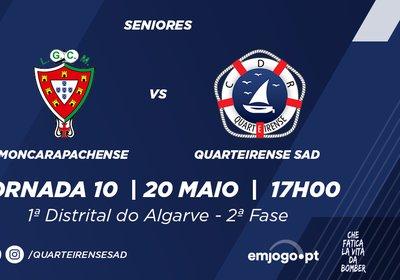 Jornada 10: Moncarapachense vs Quarteirense SAD