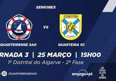 Jornada 3: Quarteirense SAD vs Quarteira SC