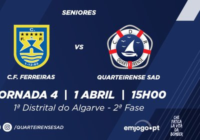 Jornada 4: Ferreiras vs Quarteirense SAD