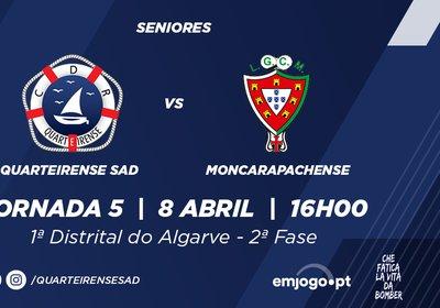 Jornada 5: Quarteirense SAD vs Moncarapachense