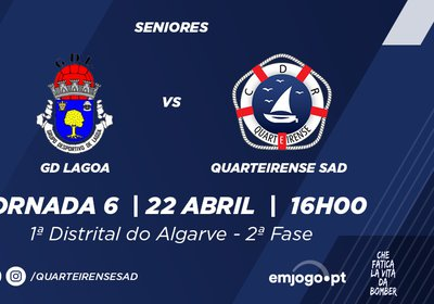 Jornada 6: Lagoa vs Quarteirense SAD