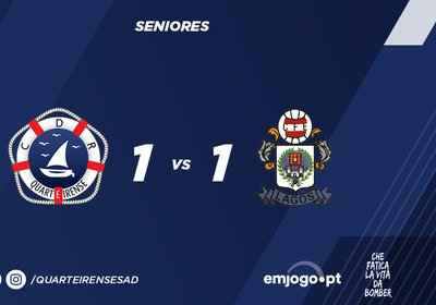 Quarteirense SAD 1 - 1 Esp. Lagos