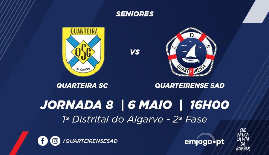 Jornada 8: Quarteira vs Quarteirense SAD