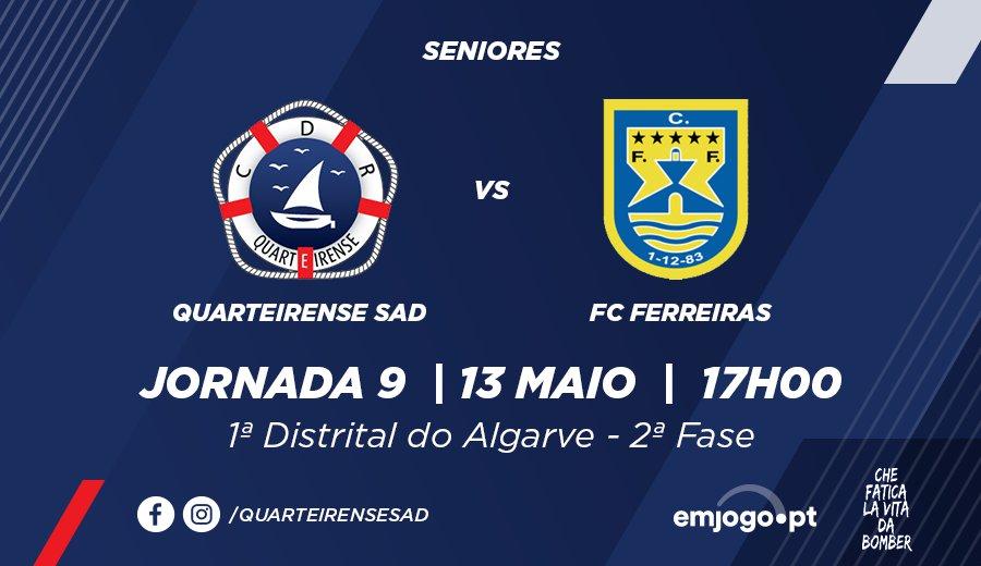 Jornada 9: Quarteirense SAD vs Ferreiras