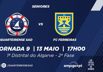 Jornada 9: Quarteirense SAD vs Ferreiras
