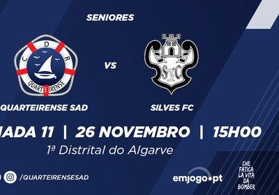 Jornada 11: Quarteirense SAD vs Silves FC