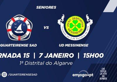 Jornada 15: Quarteirense SAD vs Messinense