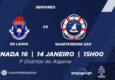 Jornada 16: Lagoa vs Quarteirense SAD